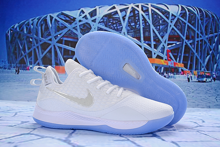 Nike LeBron Witness 3 All White Shoes