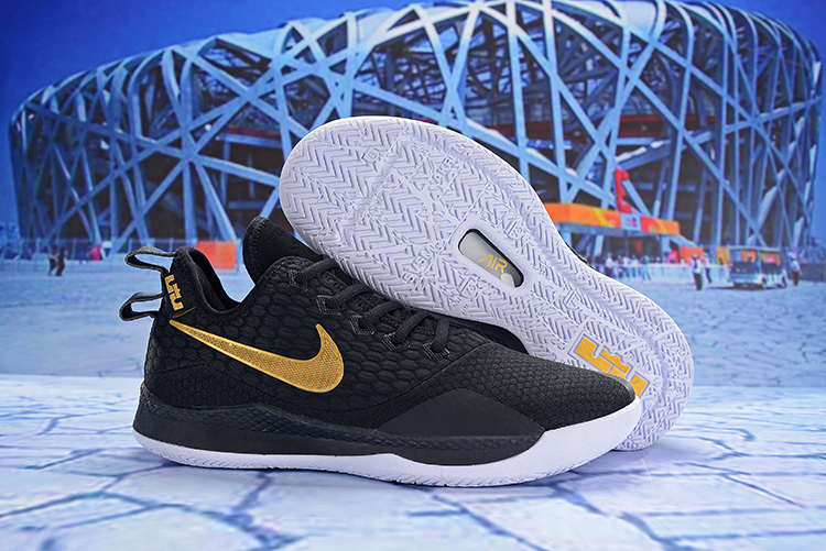 Nike LeBron Witness 3 Black Gold Shoes