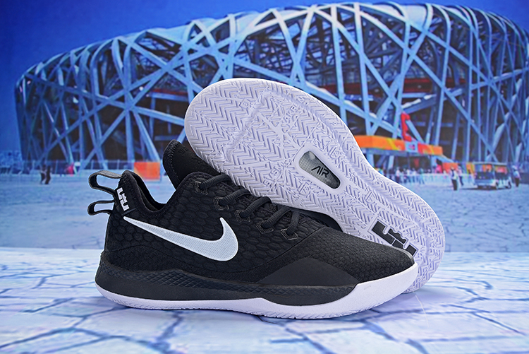 Nike LeBron Witness 3 Black White Shoes