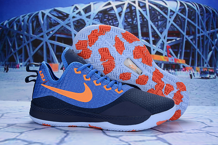 Nike LeBron Witness 3 Blue Orange Shoes