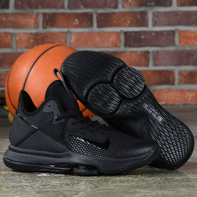 Nike LeBron Witness 4 All Black Shoes