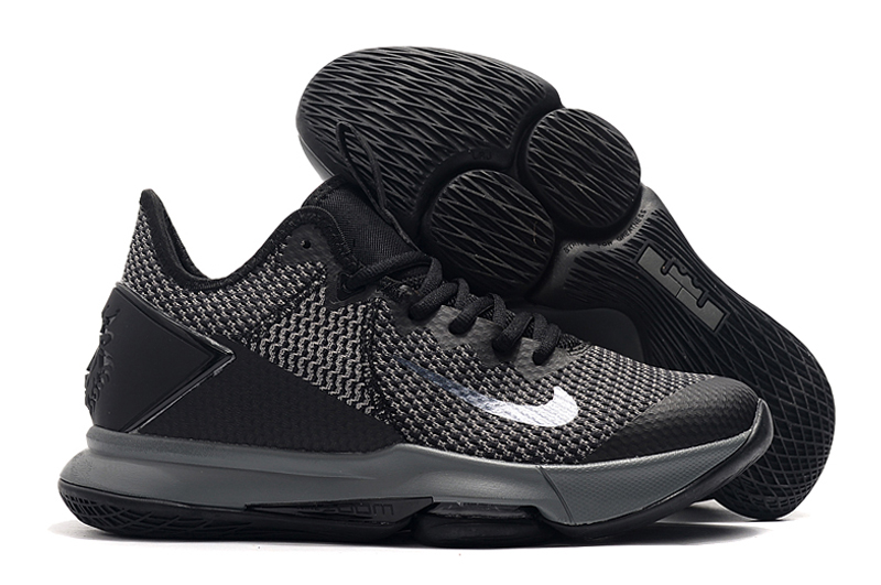 Nike LeBron Witness 4 Cool Black Shoes