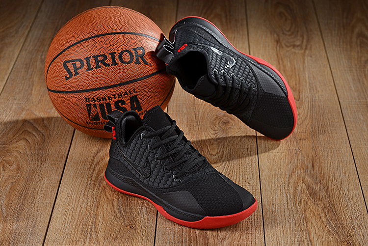 Nike LeBron Witness III Black Red Shoes