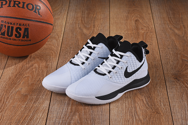 Nike LeBron Witness III White Black Shoes