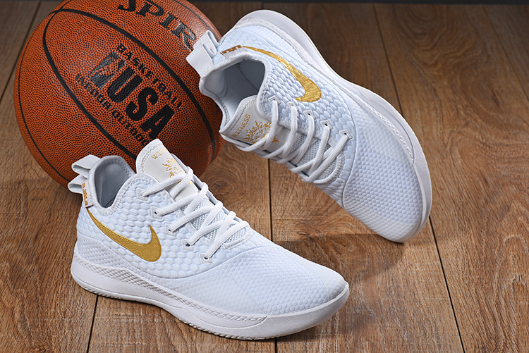 Nike LeBron Witness III White Gold Shoes