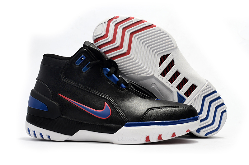 Nike Lebron 1 Retro Black Blue Red Shoes