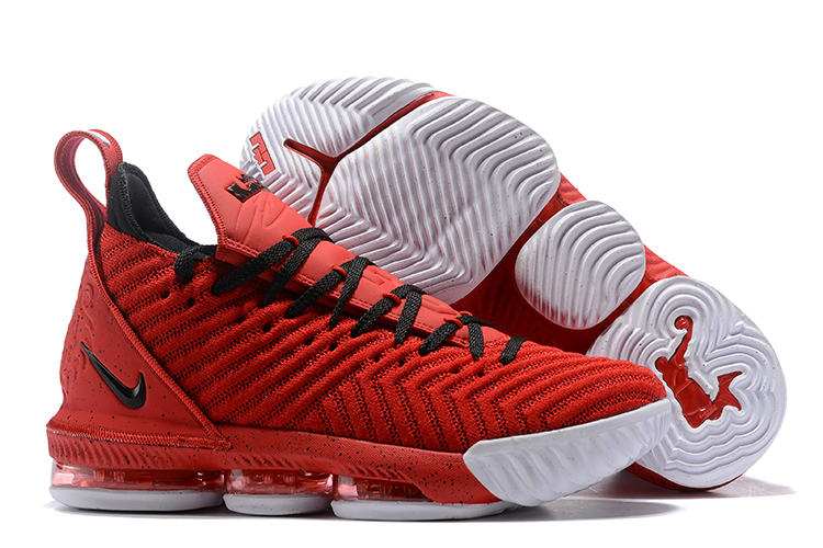 Nike Lebron James 16 Red Black Shoes For Women c13464d98c