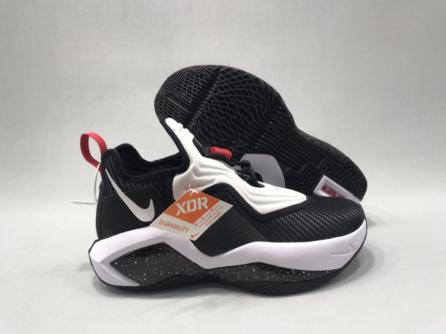 Nike Lebron Soldier 14 White Black Red Shoes