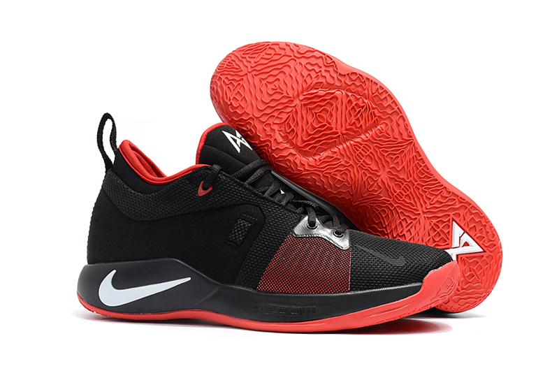 Nike PG 2 Black Red White Basketball Shoes