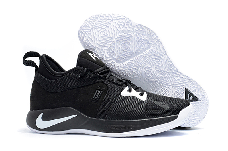 Nike PG 2 Black White Basketball Shoes