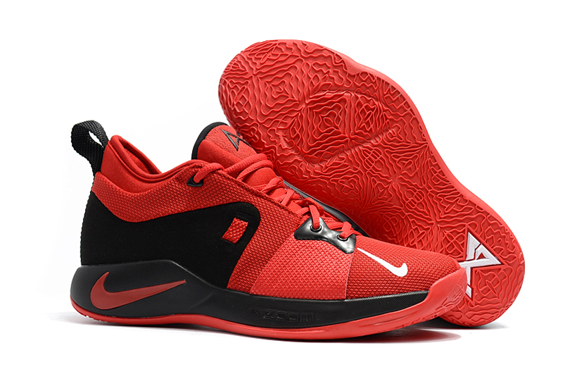 Nike PG 2 Red Black Basketball Shoes