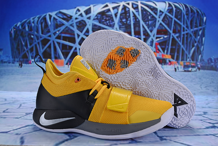 Nike PG 2.5 Yellow Black Grey Shoes