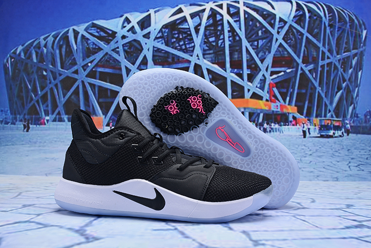 Nike PG 3 Black Orange Shoes