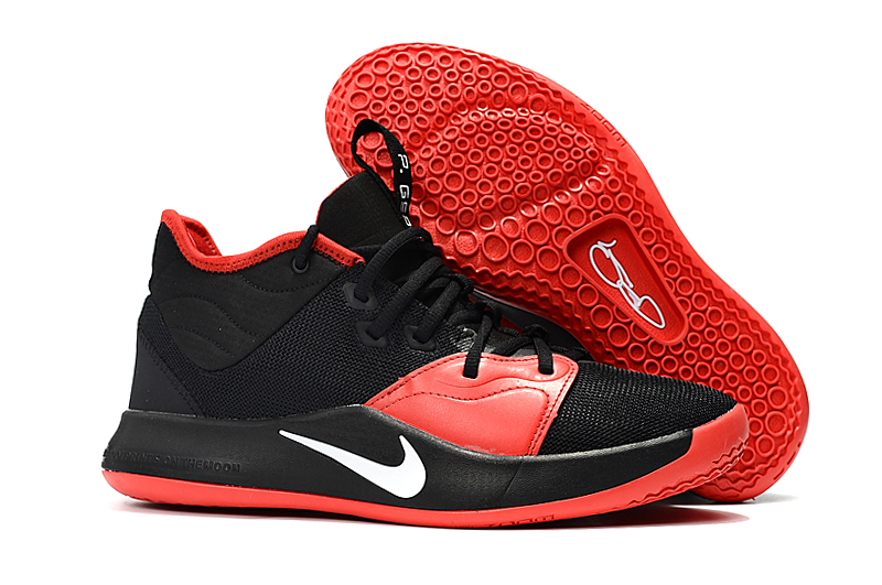 Nike PG 3 Black Red Shoes