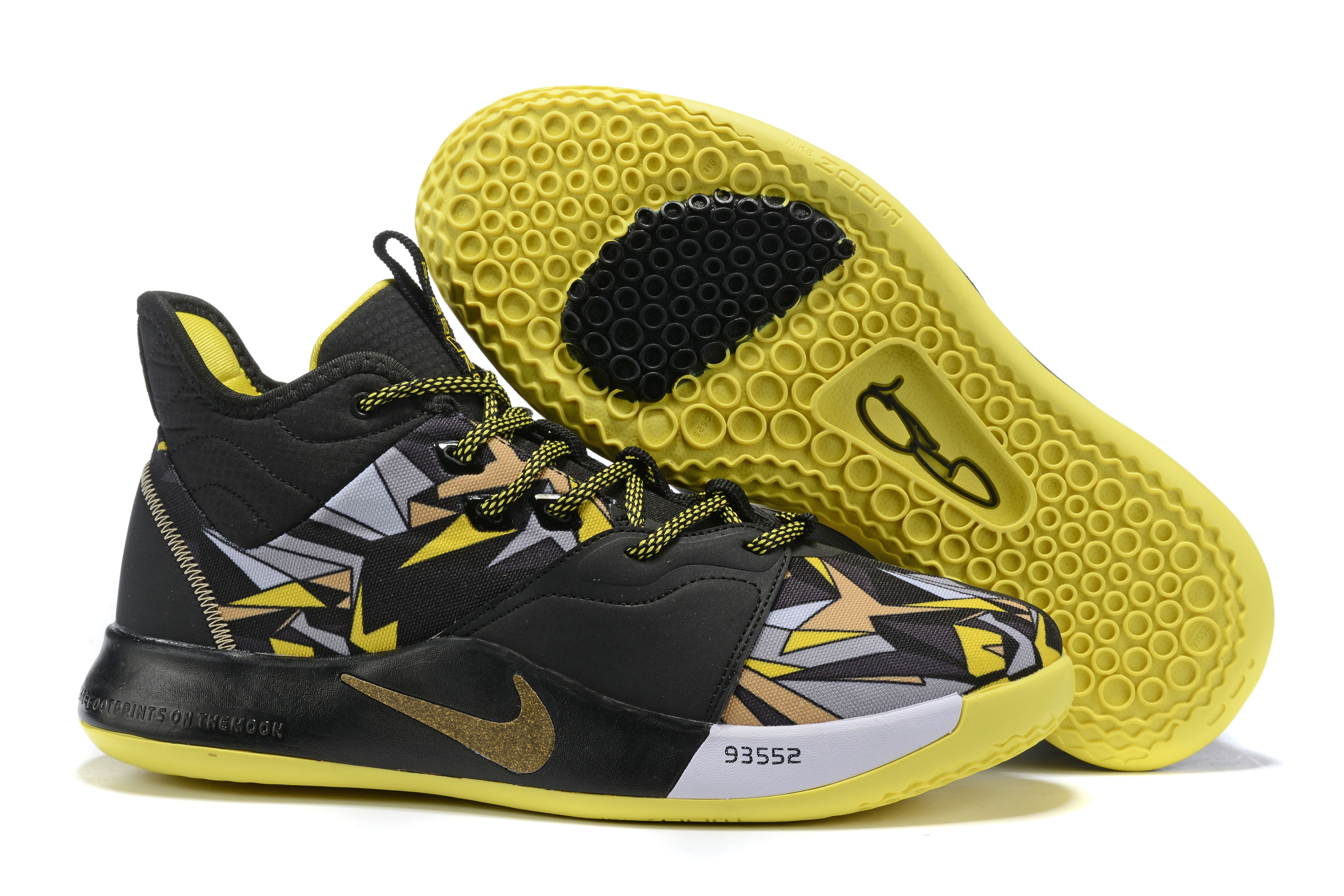 Nike PG 3 Mamba Mentality Black Yellow Shoes