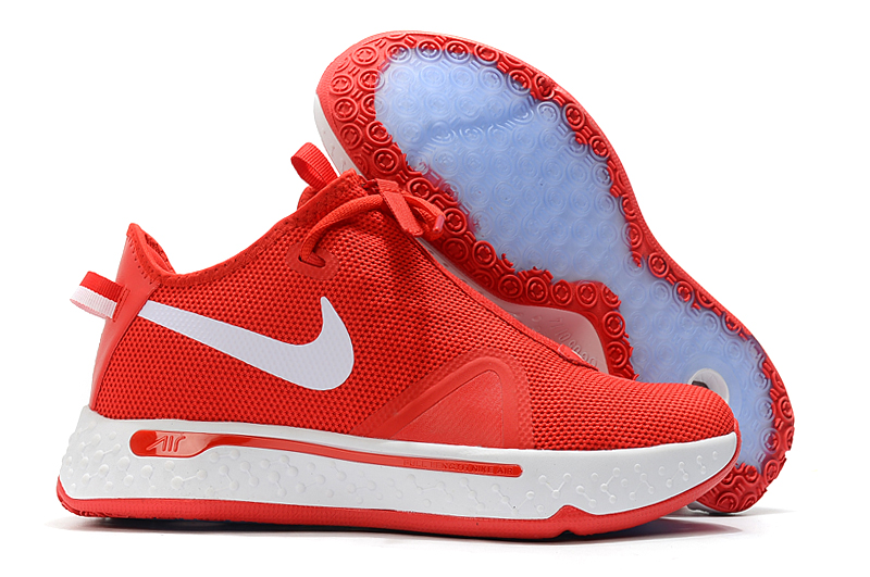 Nike PG 4 Red White Shoes