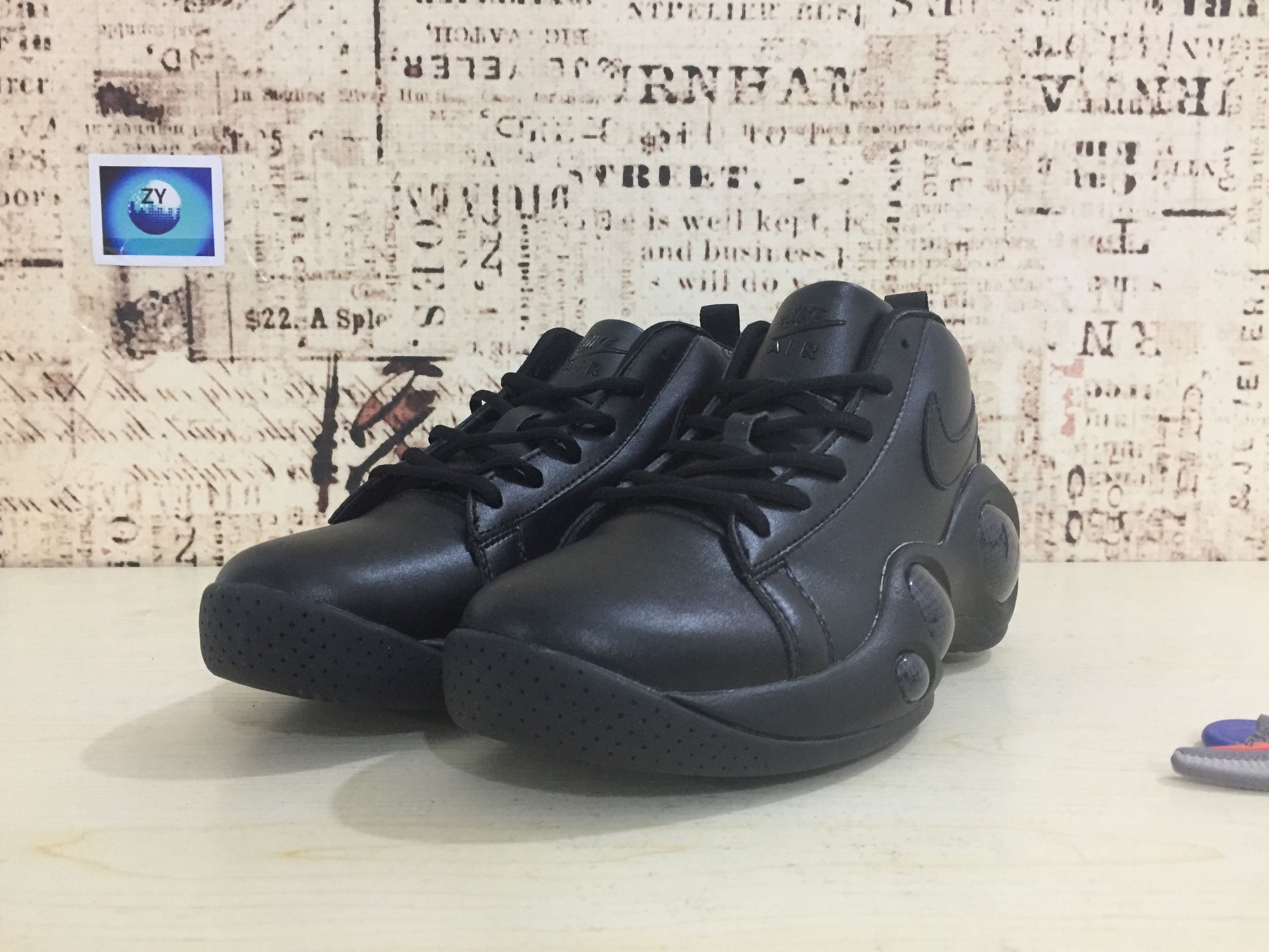 Nike Zoom Bonafide All Black Shoes