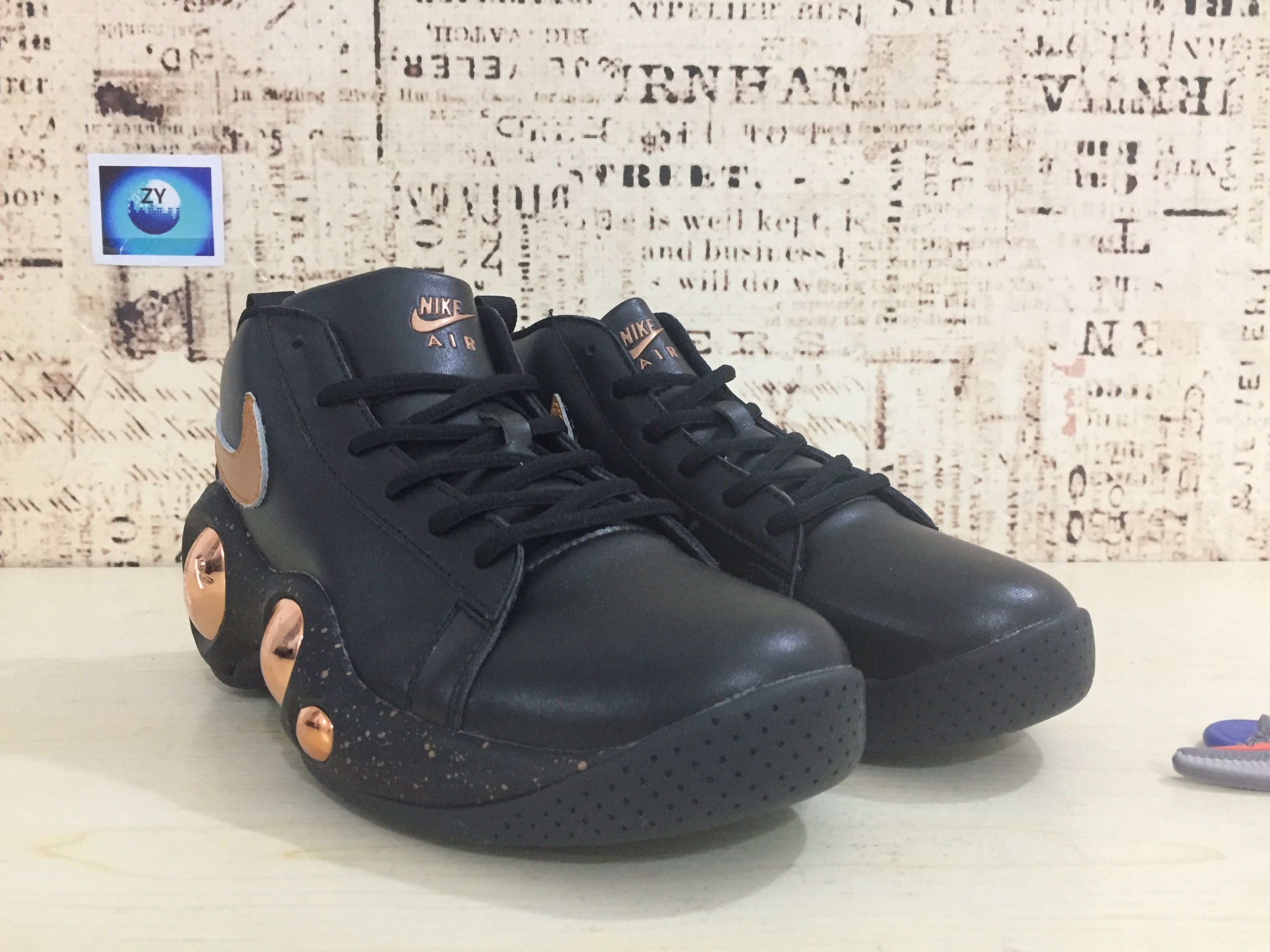 Nike Zoom Bonafide Black Gold Shoes