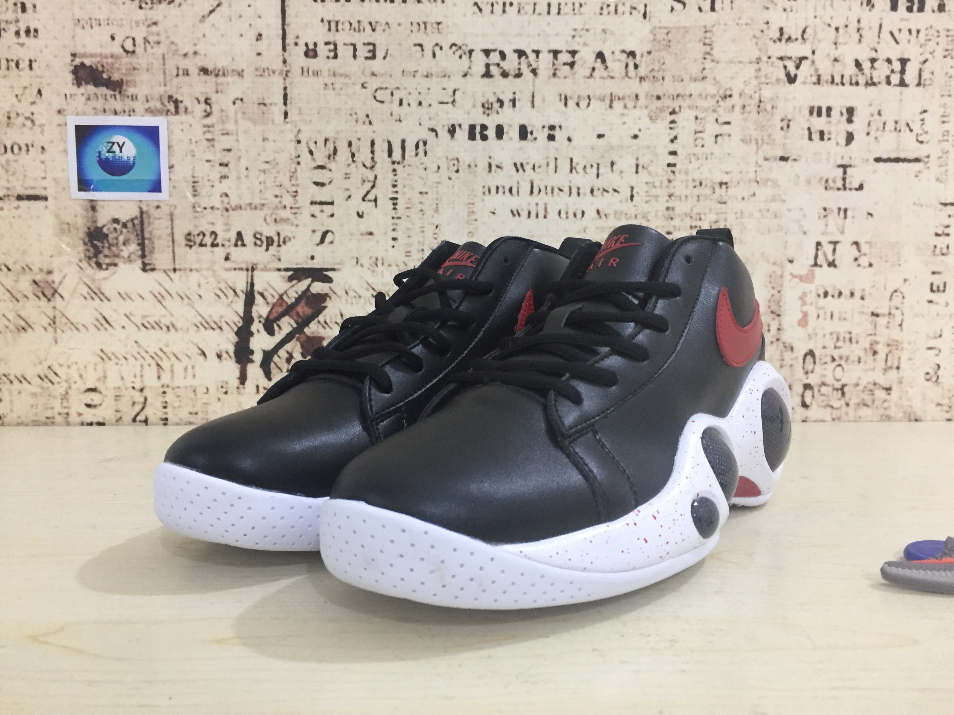 Nike Zoom Bonafide Black Red Shoes