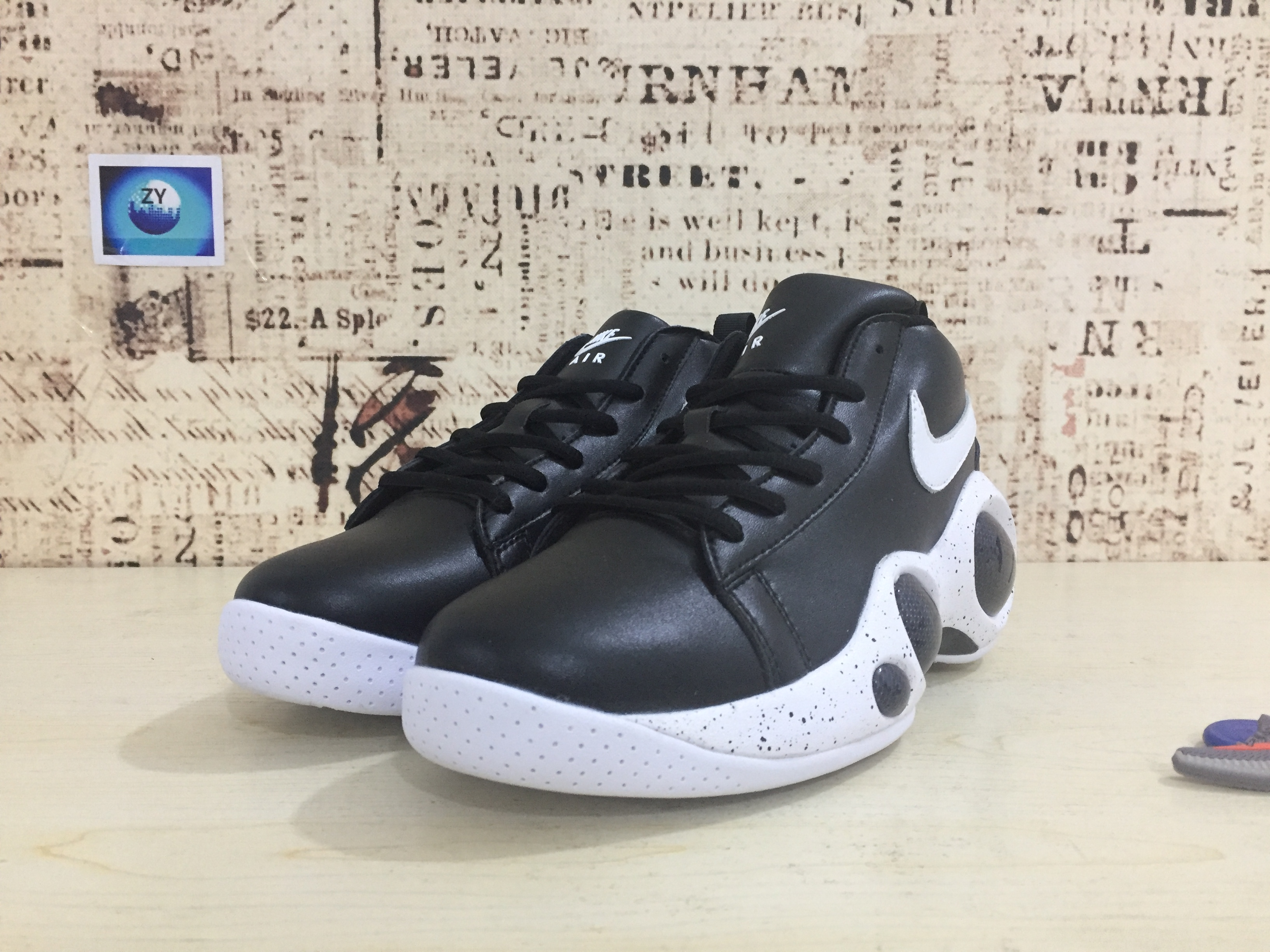 Nike Zoom Bonafide Black White Shoes