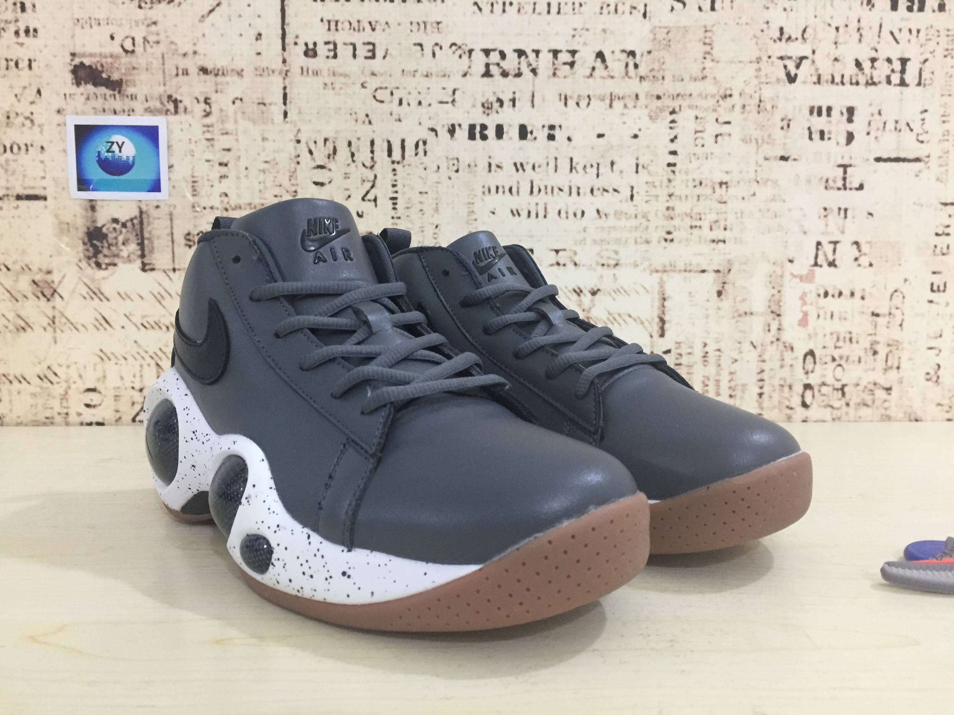 Nike Zoom Bonafide Grey Black Shoes