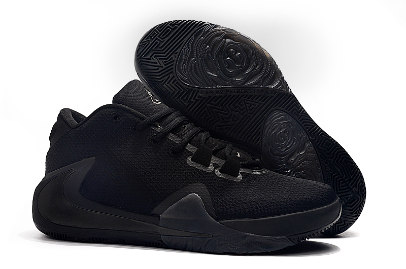 Nike Zoom Freak 1 All Black Shoes
