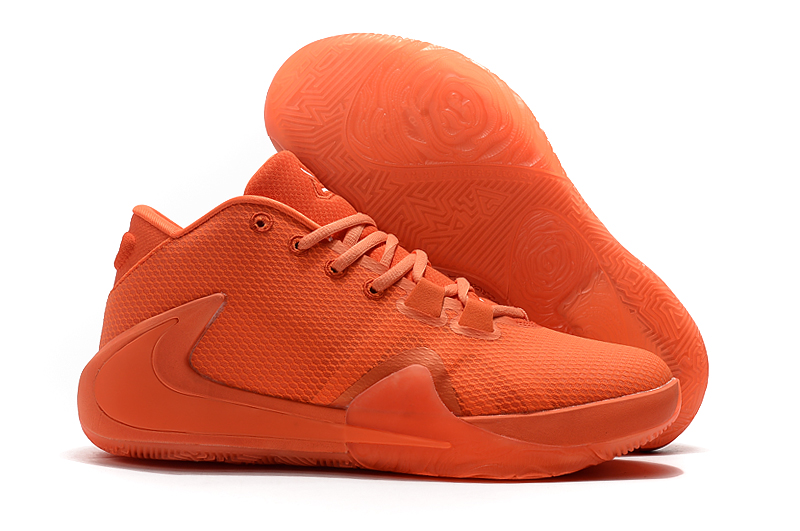 Nike Zoom Freak 1 All Orange Shoes