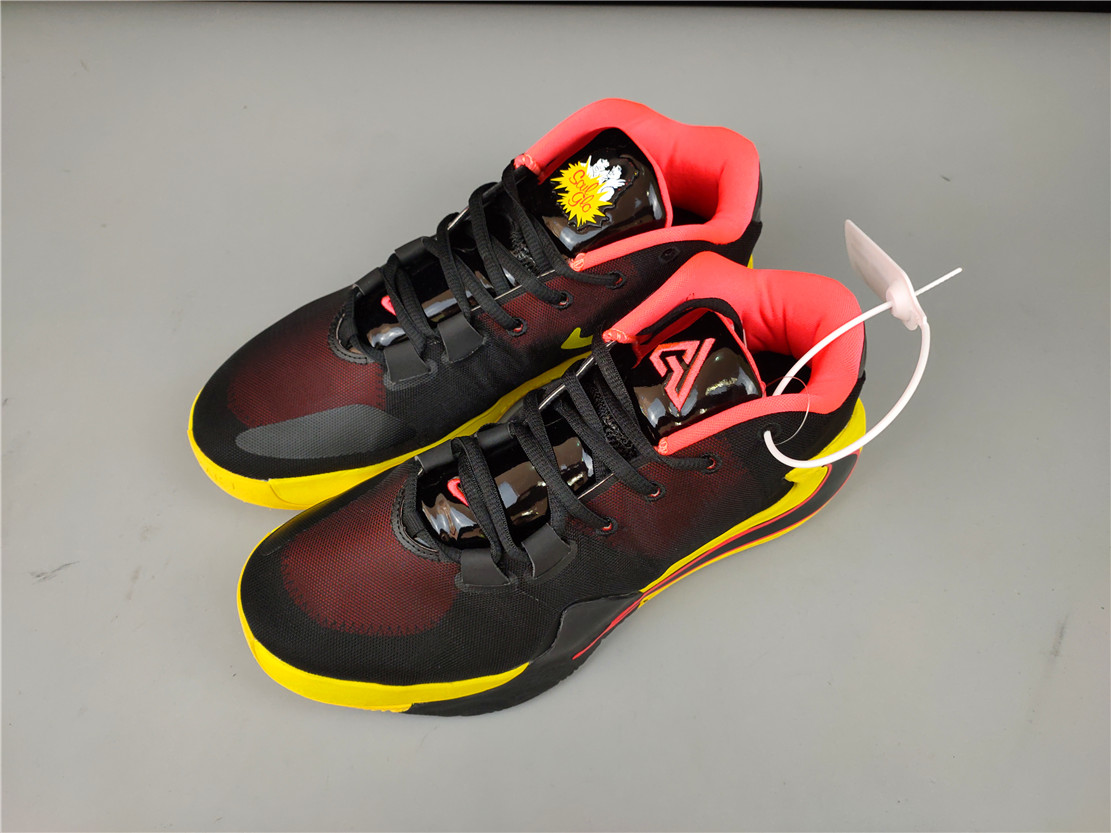 Nike Zoom Freak 1 Black Red Yellow Shoes