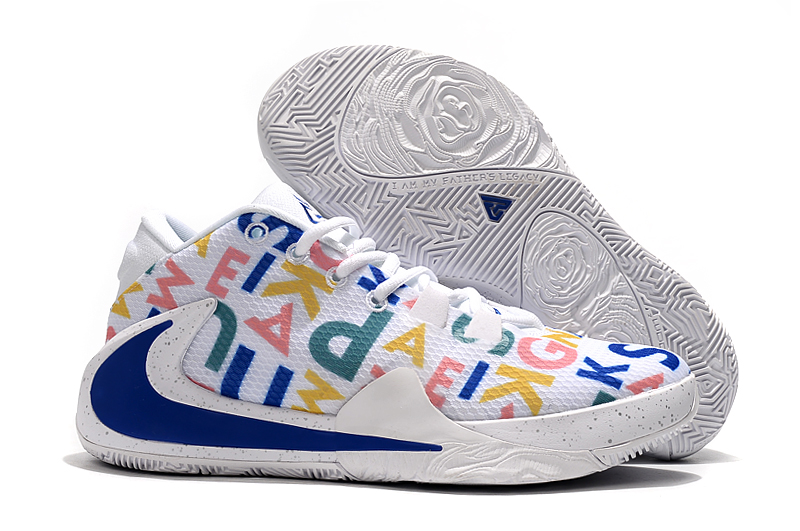 Nike Zoom Freak 1 Candy White Blue Shoes