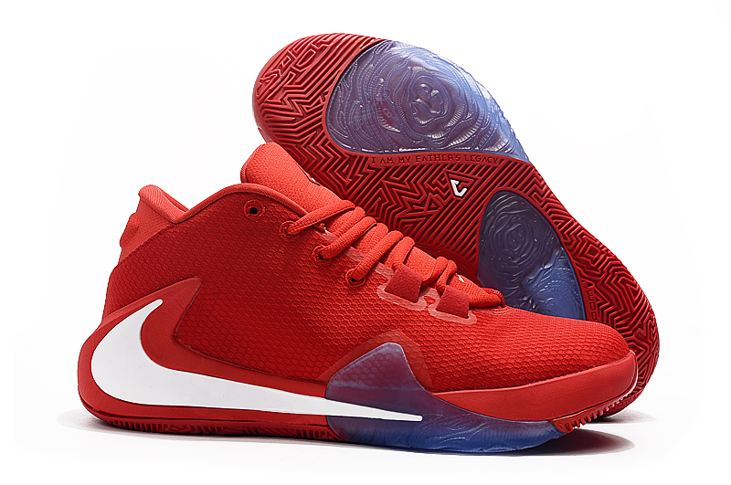 Nike Zoom Freak 1 Red White Blue Shoes