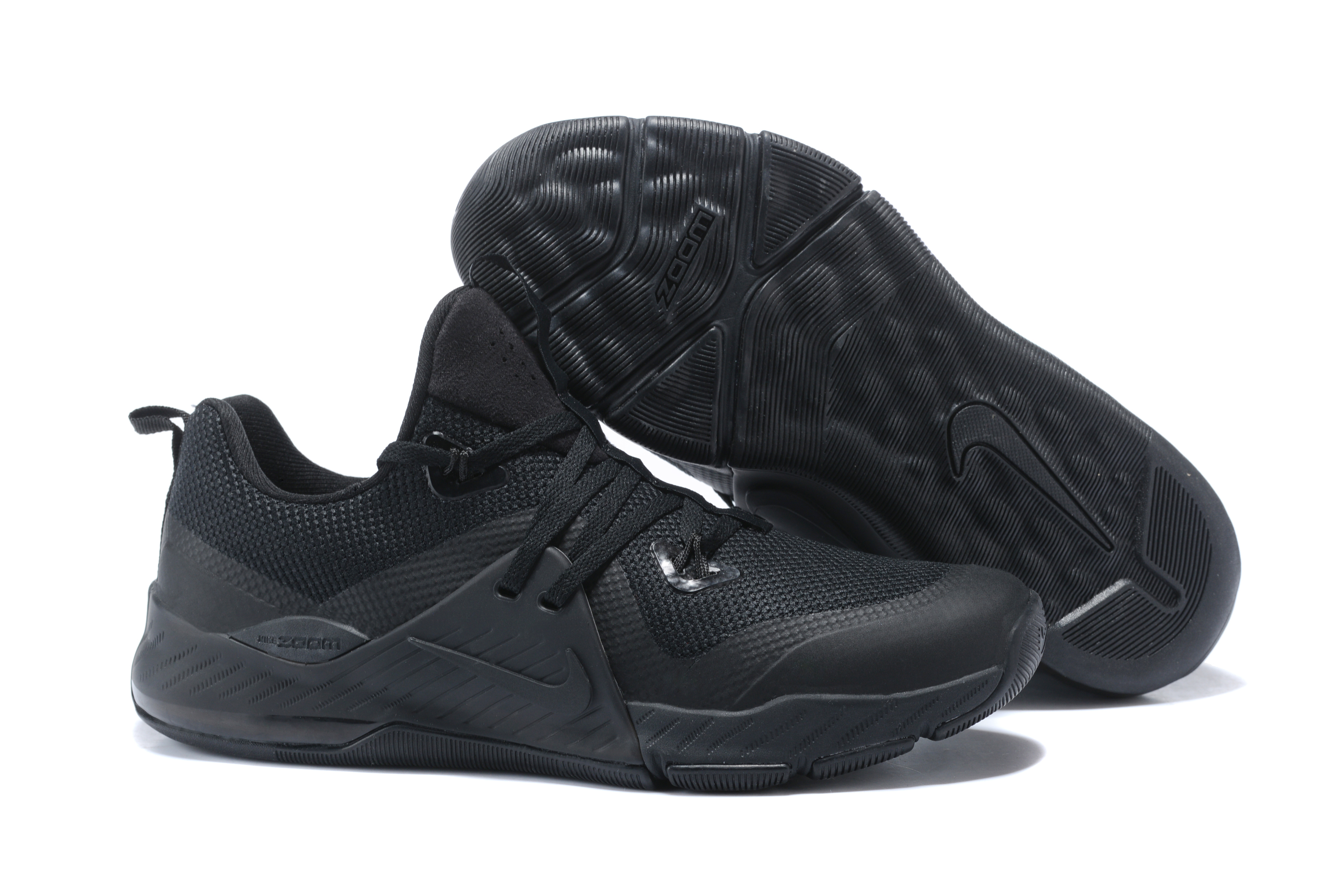 Nike Zoom II All Black Basketball Shoes