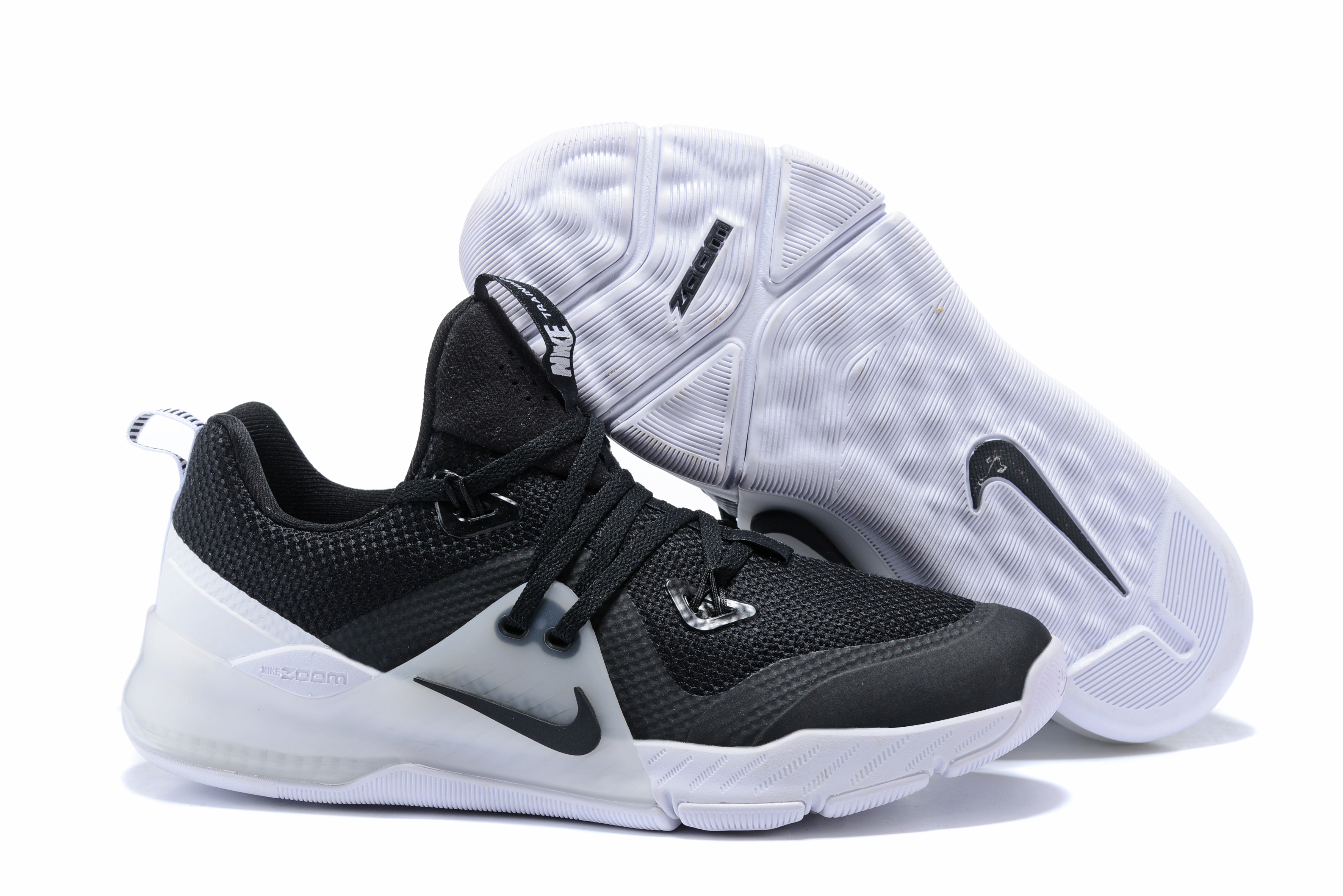 Nike Zoom II Roayl Black White Basketball Shoes