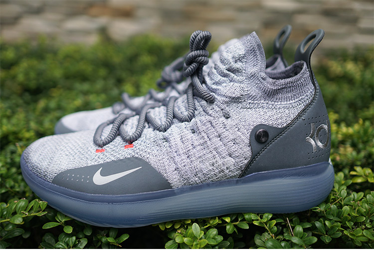 Nike Zoom KD 11 EP White Grey Shoes