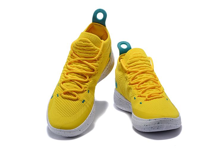 Nike Zoom KD 11 EP Yellow Green Shoes