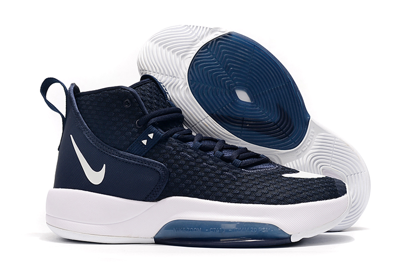 Nike Zoom Rize 2019 Deep Blue White Shoes