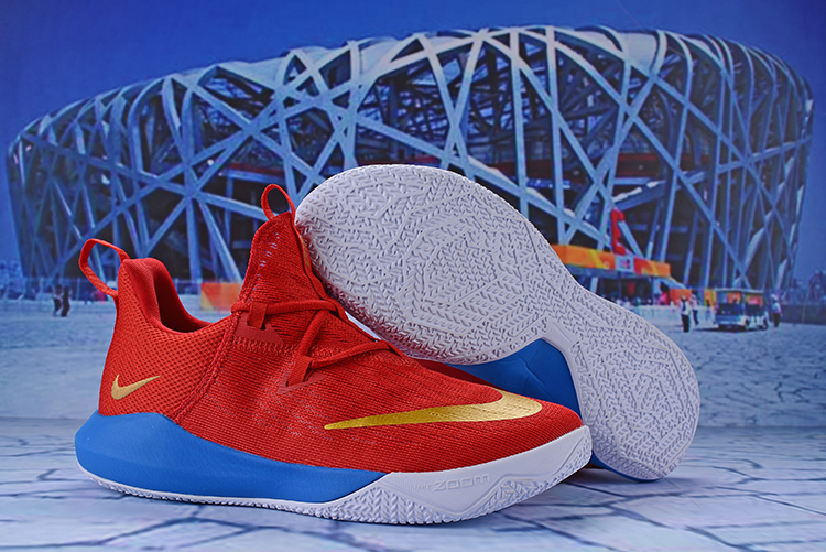 Nike Zoom Shift 2 EP Red Gold Blue Shoes