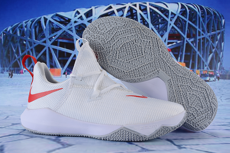 Nike Zoom Shift 2 EP White Red Shoes