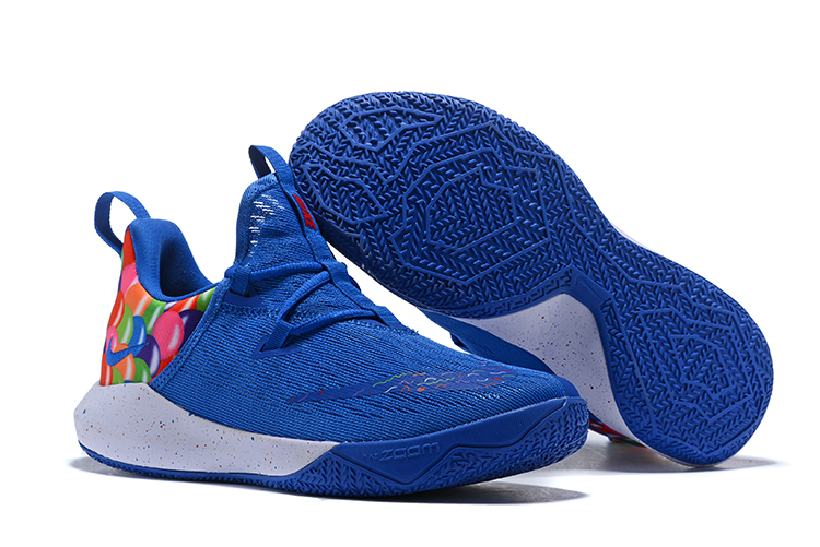 Nike Zoom Shift II Blue Colorful White Shoes