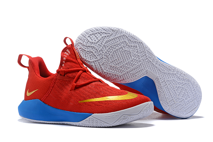 Nike Zoom Shift II Red Gold Blue Shoes