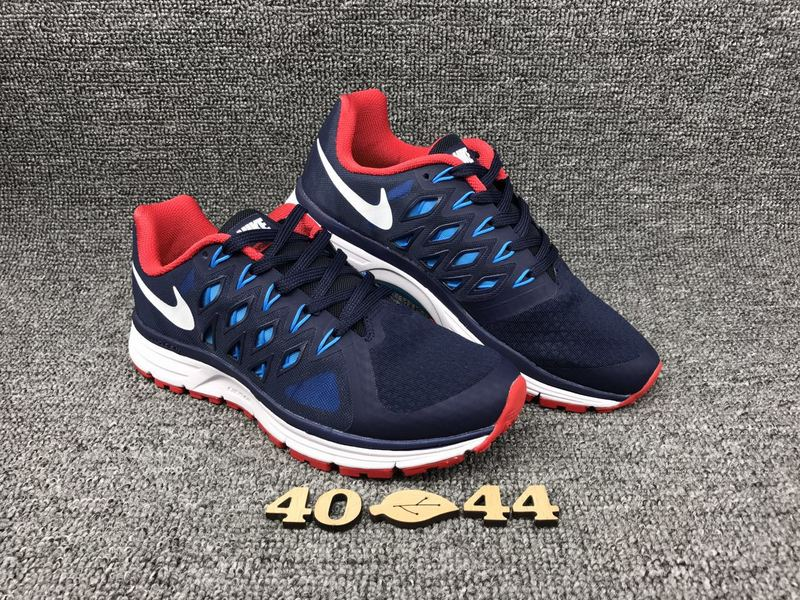 Nike Zoom Vomero IX Deep Blue Red Running Shoes For Women