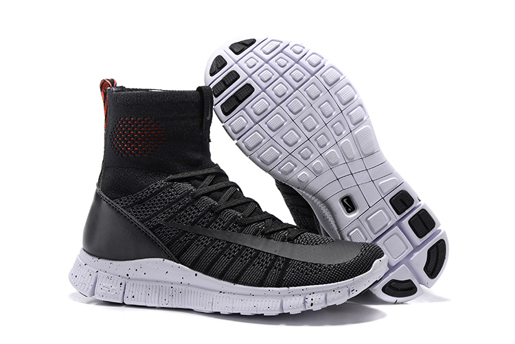 Nike 5.0 Free Mercurial Superfly Black White Shoes