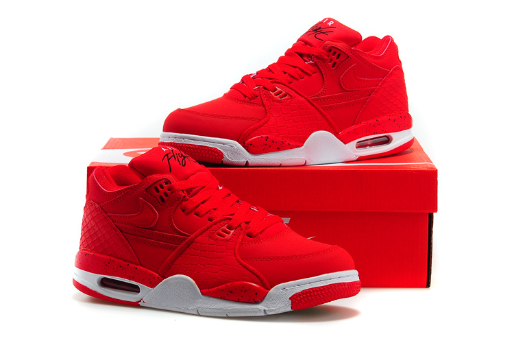 Nike Air Flight 89 All Red Shoes
