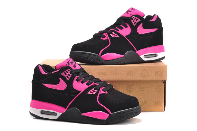 Nike Air Flight 89 Black Pink For Women