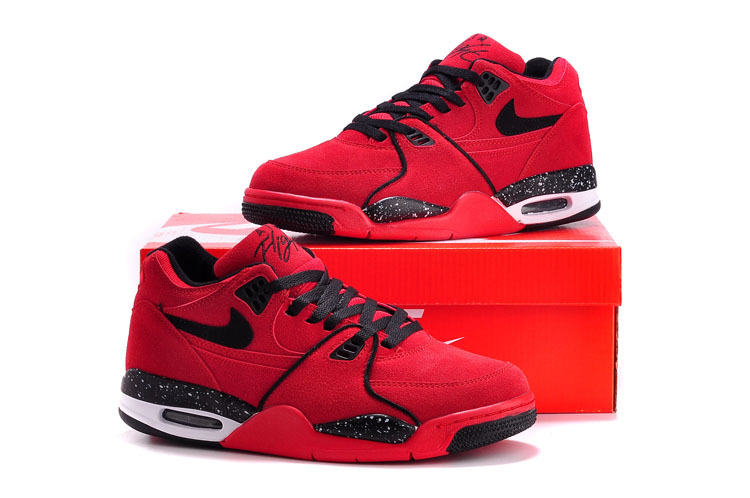 Nike Air Flight 89 Red Black Shoes