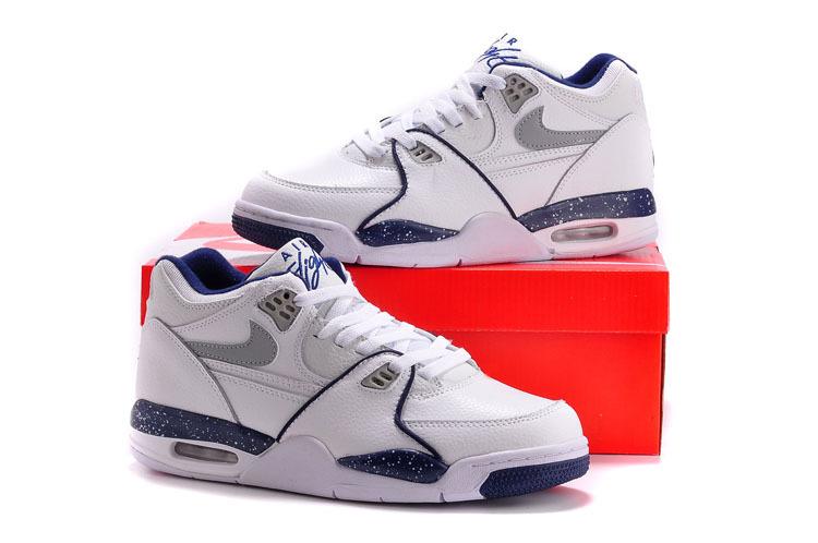 newest fbd06 e0fdc Nike Air Flight 89 White Blue Shoes