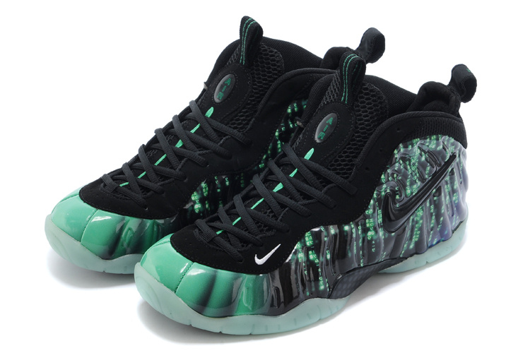 Nike Air Foamposite One Dark Green Black Shoes