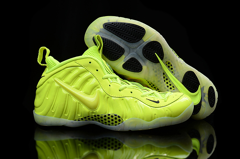 Nike Air Foamposite Penny All Fluorscent Green Shoes