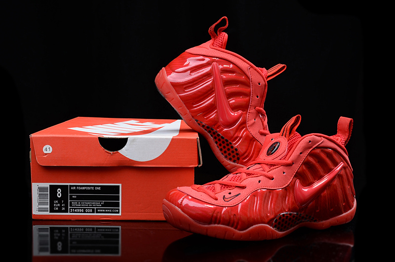 Nike Air Foamposite Penny All Red Shoes