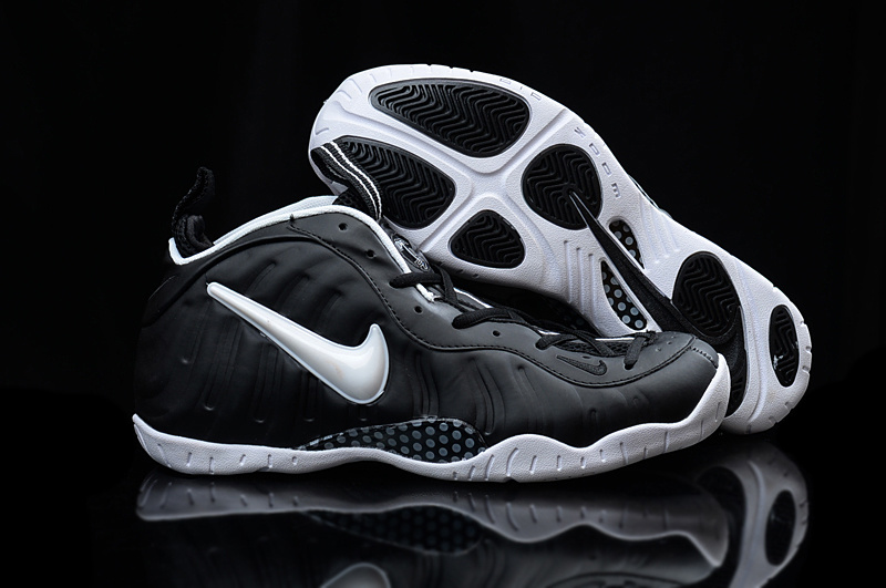 Nike Air Foamposite Penny Black White Shoes
