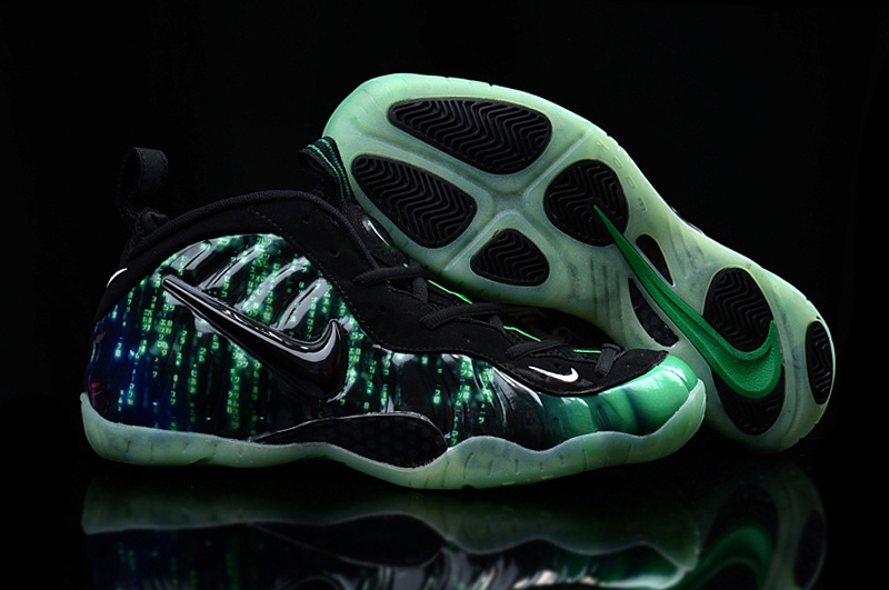 Nike Air Foamposite Penny Green Black Shoes
